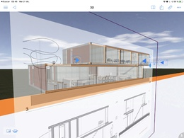 Make 3d model of your project (you can see in BIMx app)
