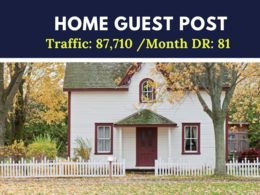 Home Real Estate Guest Post on DR:81 Traffic: 87,710 /month