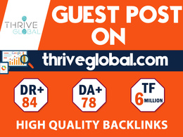 Write and Publish On Thriveglobal - Thriveglobal.com - Nofollow
