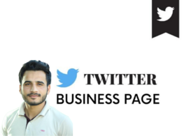 Setup twitter business page