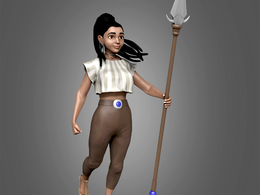 3D ( Character ) Modeling, Rigging & Texturing Service