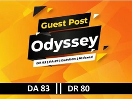 Publish your Content DR80 Site on theodessyonline - Dofollow