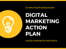 30 mins Digital Marketing Strategy Session with Action Plan