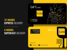 Design gift card, voucher, coupon, postcard, loyalty card in 10h