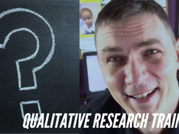 1-hour qualitative research tutorial on the topic of your choice