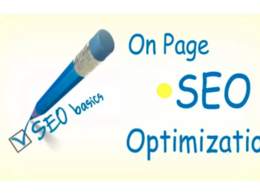 Do onpage SEO optimization of your web pages