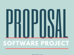 Write a project proposal against an RFP