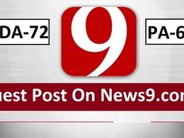Do Publish Your Content News9, News9.com DA72