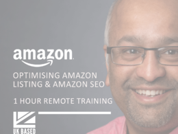 Provide 1 hour training - Optimising Amazon Listing / Amazon SEO