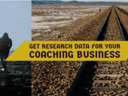 Provide market research data for your coaching business