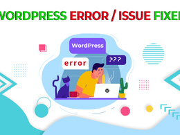 Fix wordpress bugs, issues or errors within 24 hours