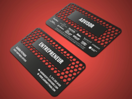 Provide you design amazing business card for you