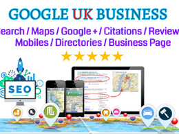 UK Local SEO For Top Google Rankings Citations Business Package