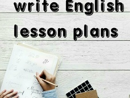 Write interesting one hour English lesson plan