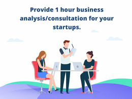 Provide 1 hour business analysis/consultation for your startups