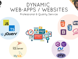 Develop redevelop professional and dynamic web app website