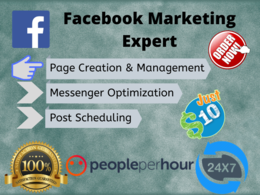 Create and manage your Facebook business page for 3 days