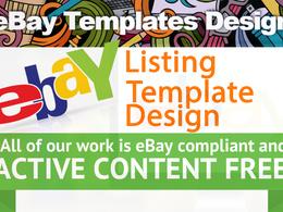 Design eBay Auction Listing Template Mobile Responsive HTTPS