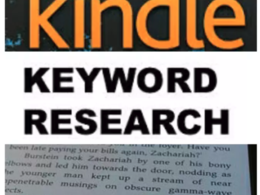 Do kindle keywords research for your amazon book