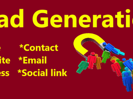Do  50 lead generation with your requirements