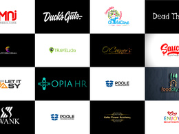 Bespoke Logo+ Premium  Concepts + High Resolution  Artwork.