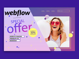Fix WebFlow design website