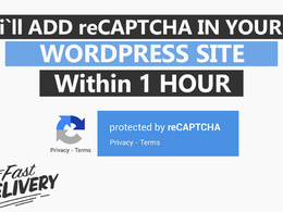 Add no captcha recaptcha or invisible recaptcha to wordprss