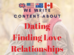 ♥ Write Content About Dating | Relationships |Love Life♥