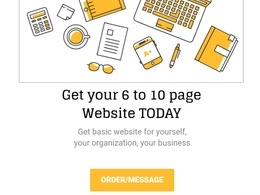 Create a 6 to 10 page website