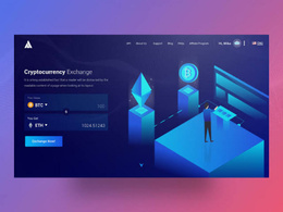 Cryptocurrency Trading & Exchange Website like binance