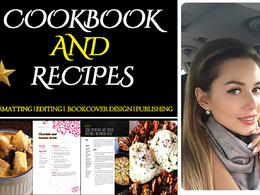 Edit, format and Layout your Cook Book