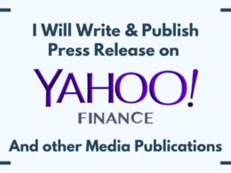 Publish featured guest post on Yahoo.com, Yahoo News DA 99