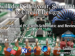 Design a professional PCB layout and Schematic Design