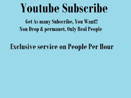 Get 100 Youtube Subscribers on your Channel