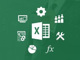 Do excel spreadsheet & formulas, pivot, graphs, charts for you