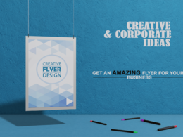 Design an eye-catching and professional flyer