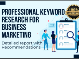 Run keyword research for your niche or business