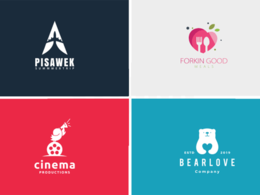 Design professional logo+unlimited revisions+free source file
