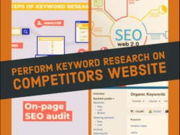 Do on page SEO audit with Keyword search for your Site