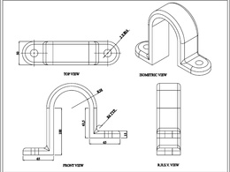 Do 2d and 3d CAD design in autocad