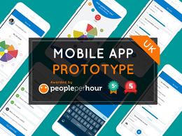 Design & create a affordable professional MOBILE APP PROTOTYPE