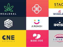 Create a simple and modern logo design for you