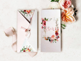 Design your invitation card for your wedding, graduation party..