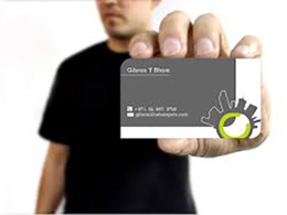 Design your business or appointment card for Just $15