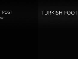 Guest Post on - TURKISH FOOTBALL