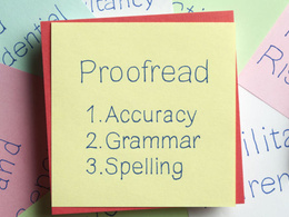 Proofread and edit any text document up to 4000 words