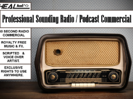 "Create & ""AIR"" A Radio Commercial To Market Your Company"