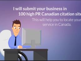 Do 30 canadian local SEO citations