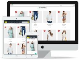 Design a Bespoke Online Store eCommerce Website