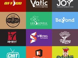 Design 3 Logo Concepts+Unlimited Revisions+Free Favicon